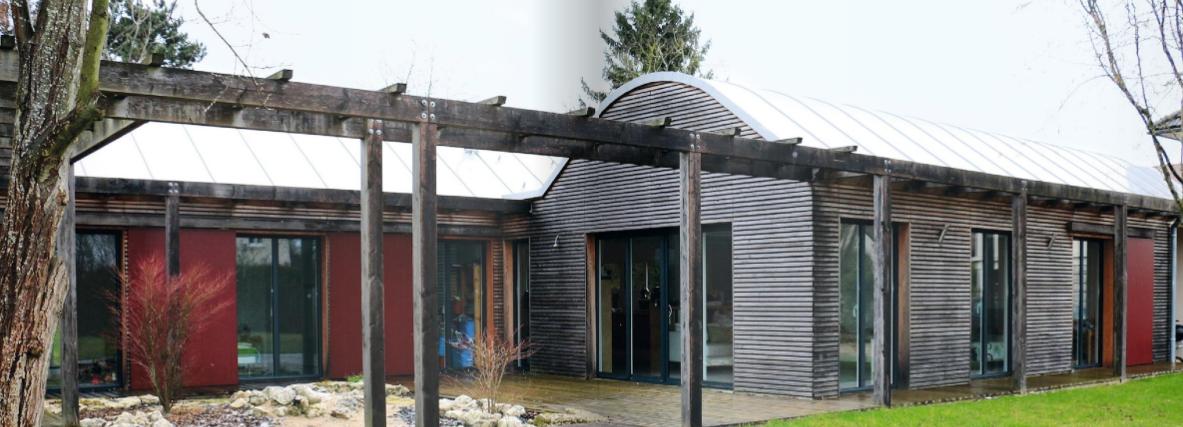 maison bois plein pied
