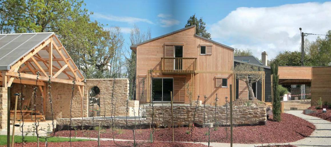 maison bioclimatique atypique