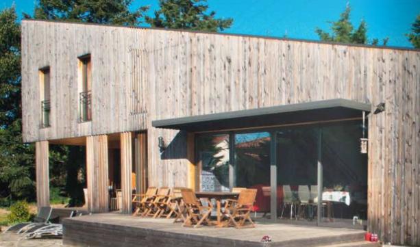 maison bois architecture audacieuse