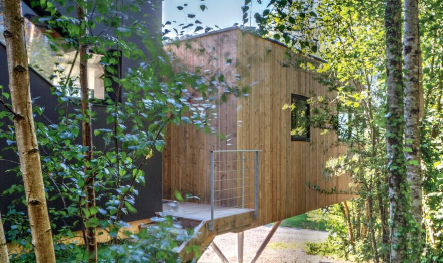 maison bois enfant fonctionnelle