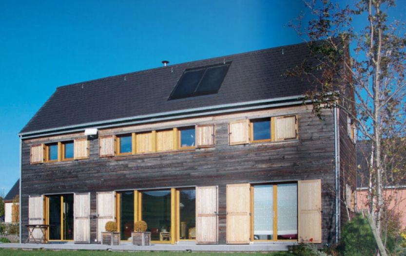 maison bois économe énergie retraite confortable
