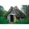 reconstitution de maisons datant du néolithique