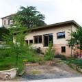 maison paille dans le bourg