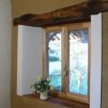 fenêtre en chaux plâtre