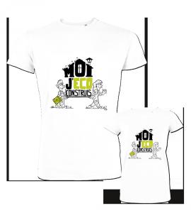 T-shirt Moi j'éco-construis