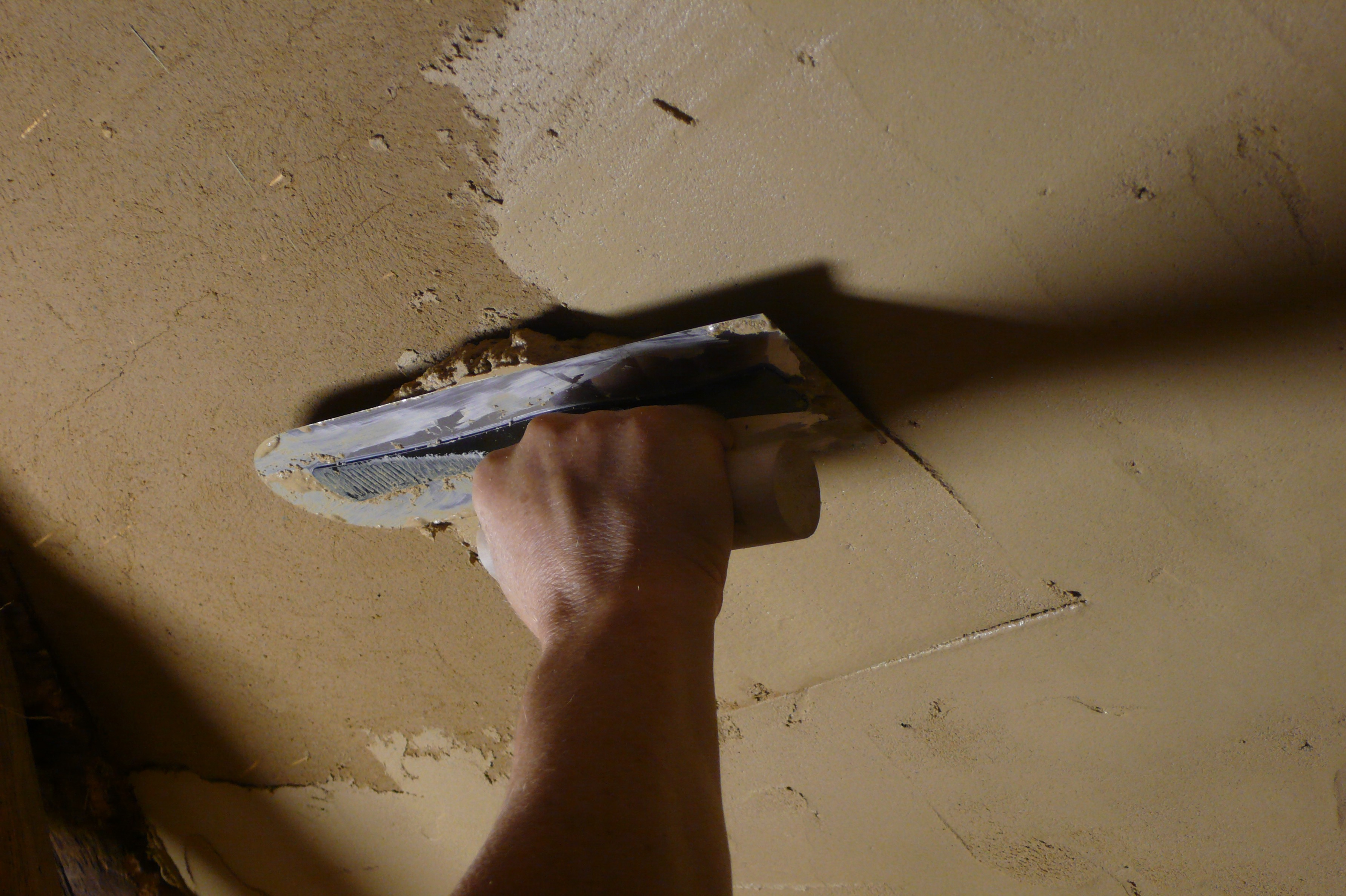 Plafond de terre