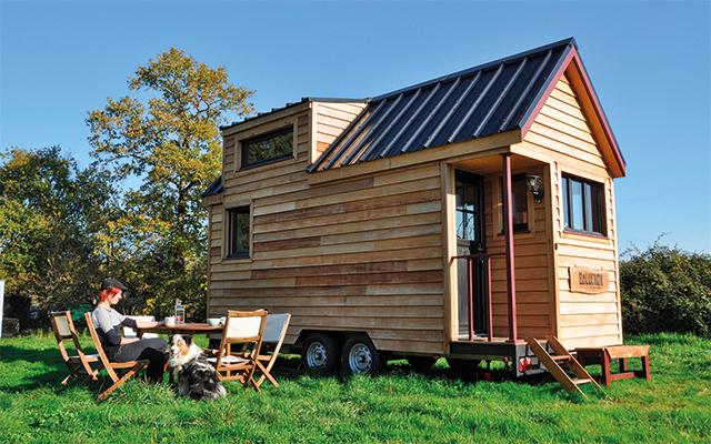 Tiny house autoconstruite
