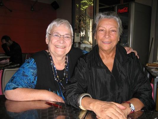 Thérèse Clerc (à droite) et Monique Bragard (à gauche) sont deux piliers du projets des Babayagas.