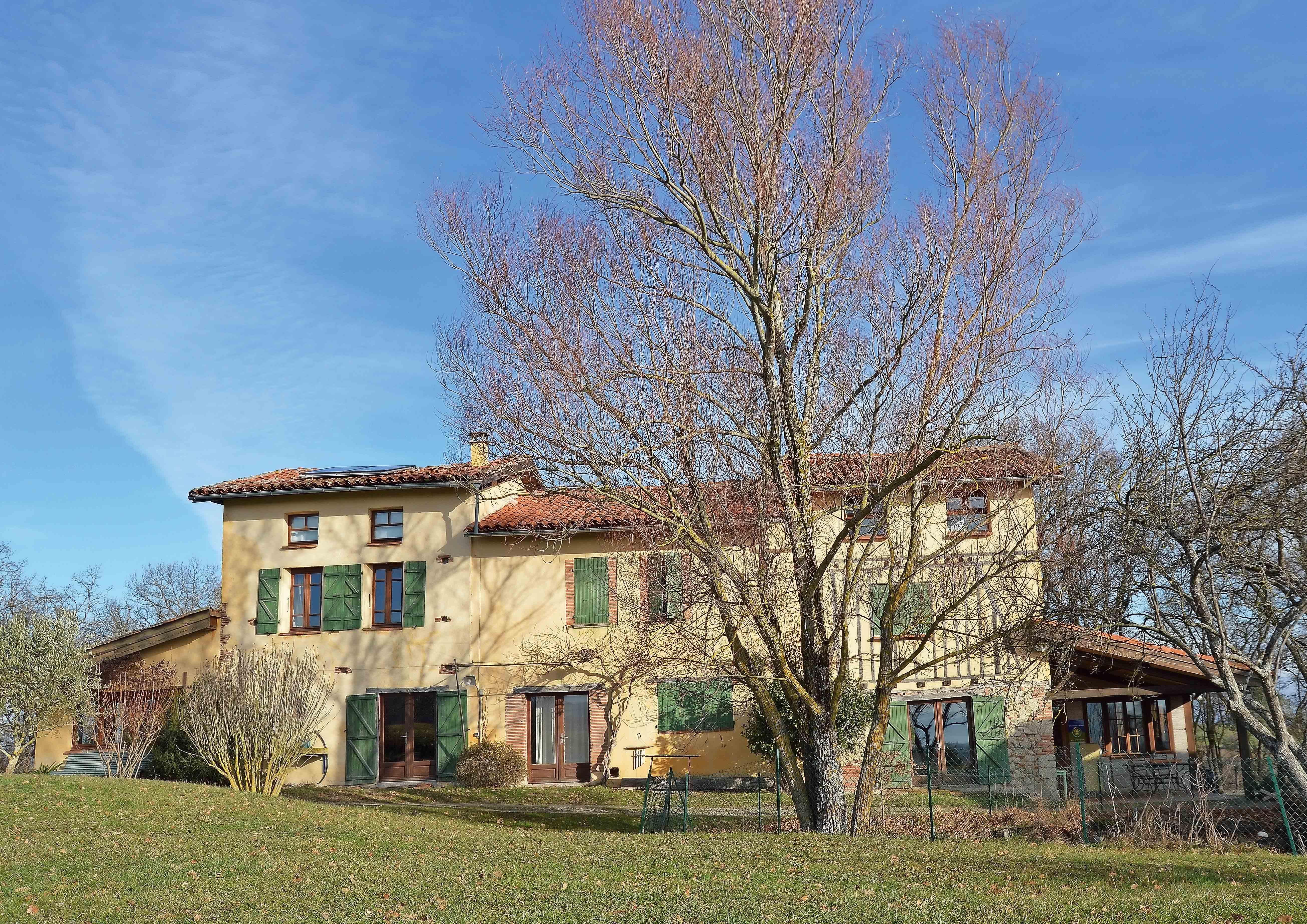 hameau écogite Haute-Garonne
