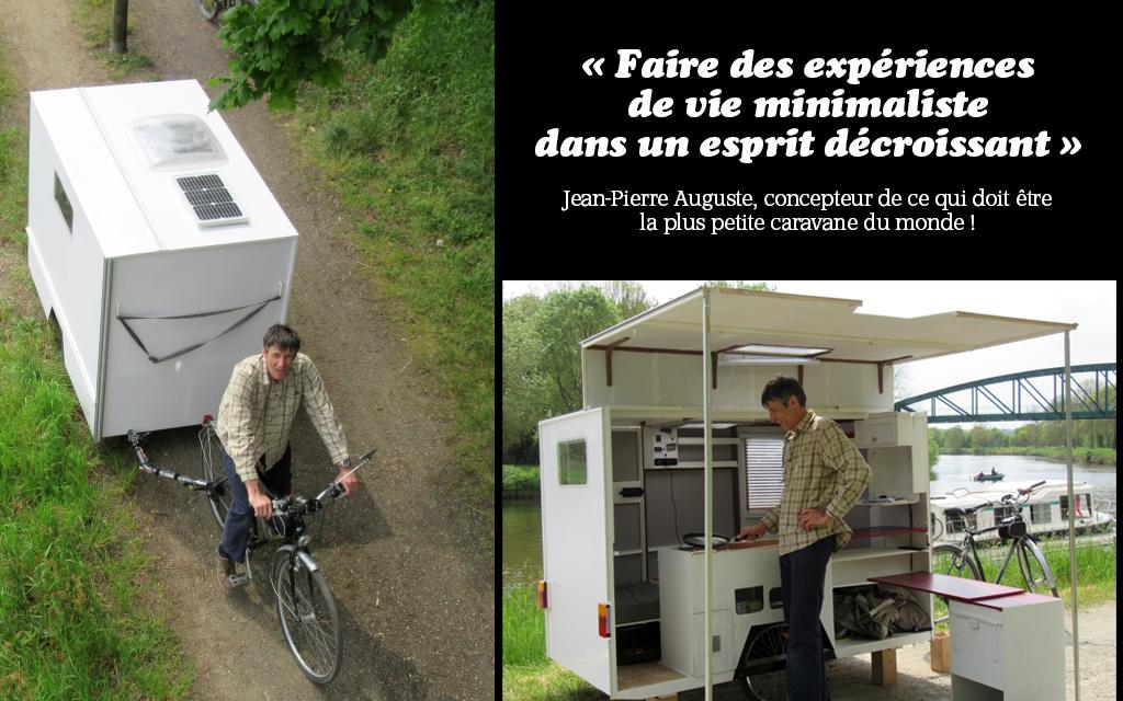 caravane cyclo-tractée - www.lamaisonecologique.com