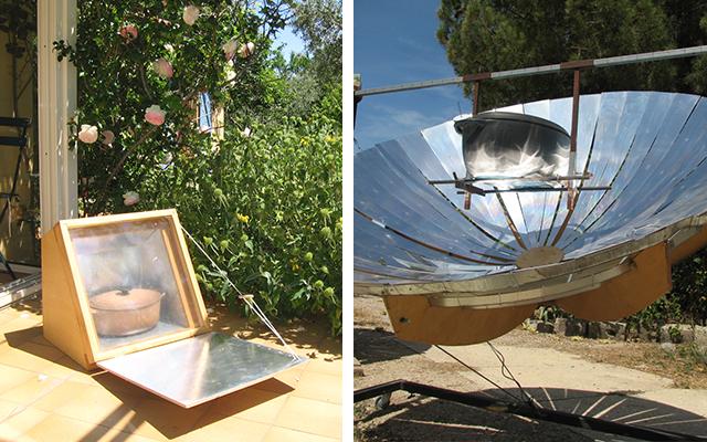 Construire soi-même un four solaire