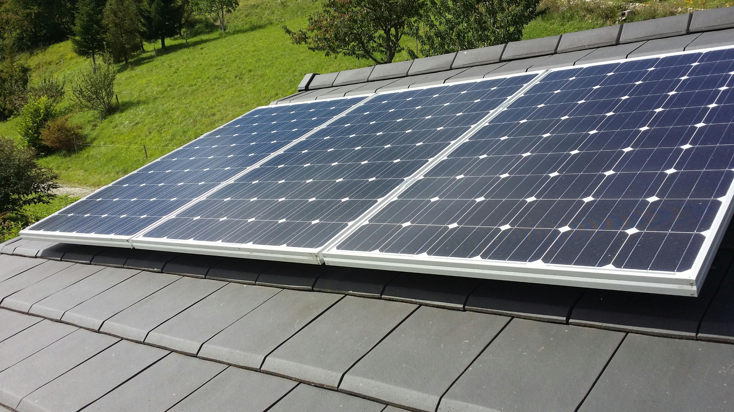 Solaire photovoltaïque surpimposé © GPPEP
