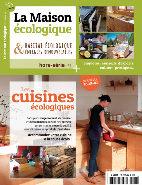hors-série sur les cuisines écologiques à paraître