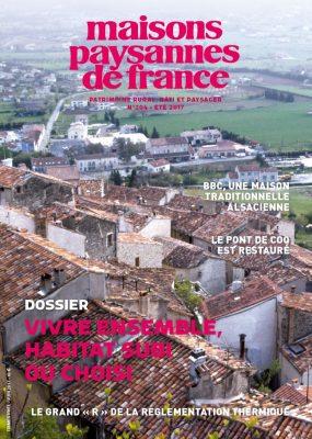 Couverture revune 204 Maison paysannes de France