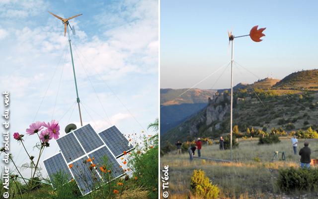 éolienne pour l'autonomie