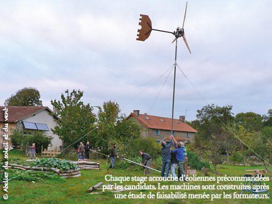 stage autoconstruction éolienne