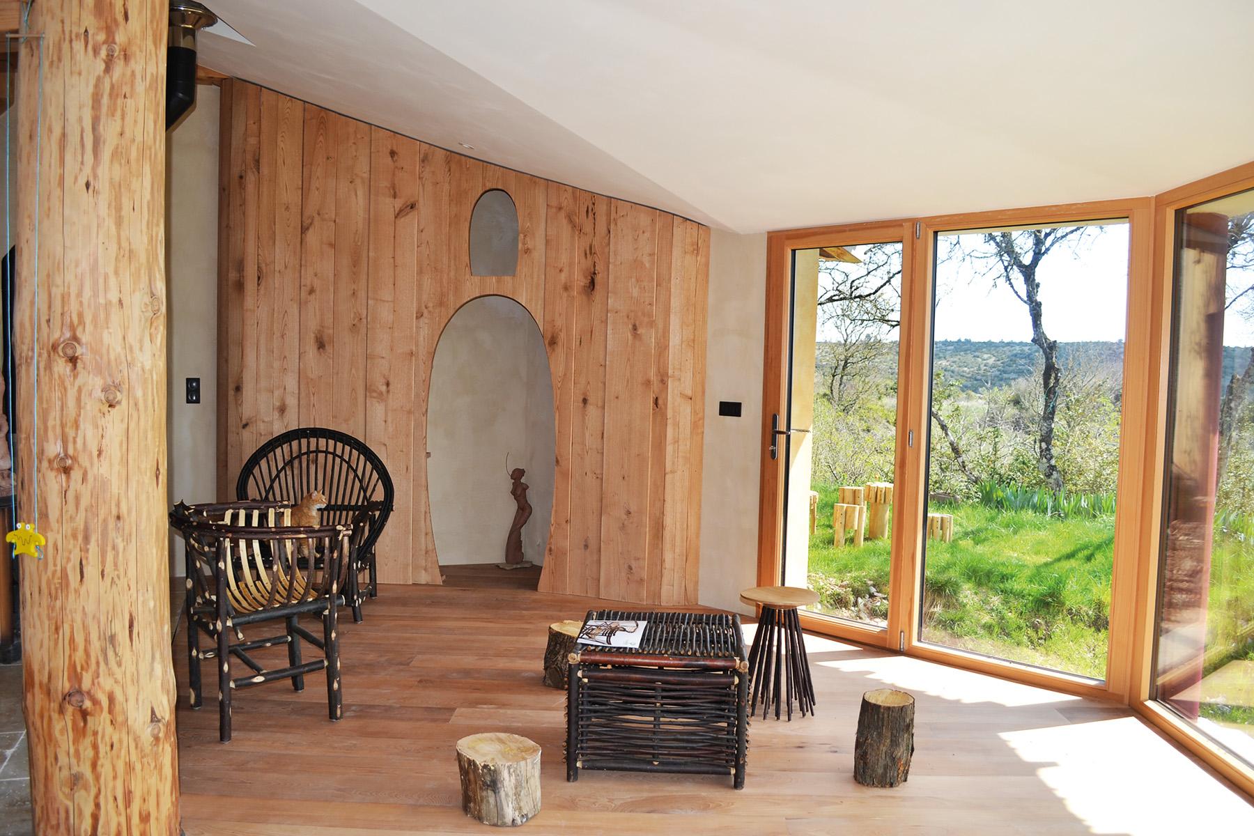 autoconstruction en bois et monomur
