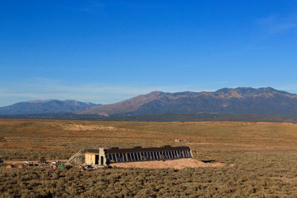 Earthship desert du taos USA