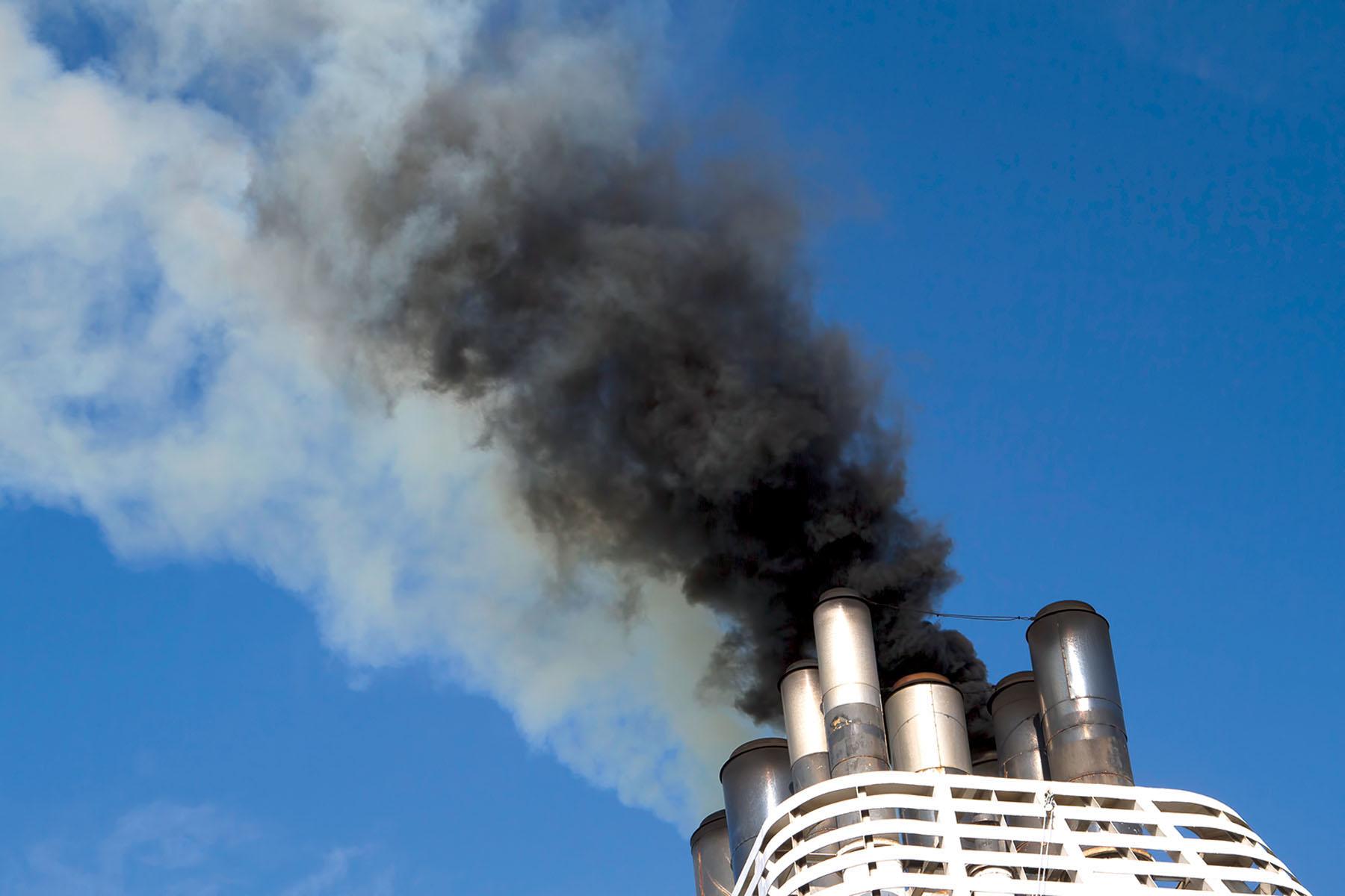 transport maritime et polution