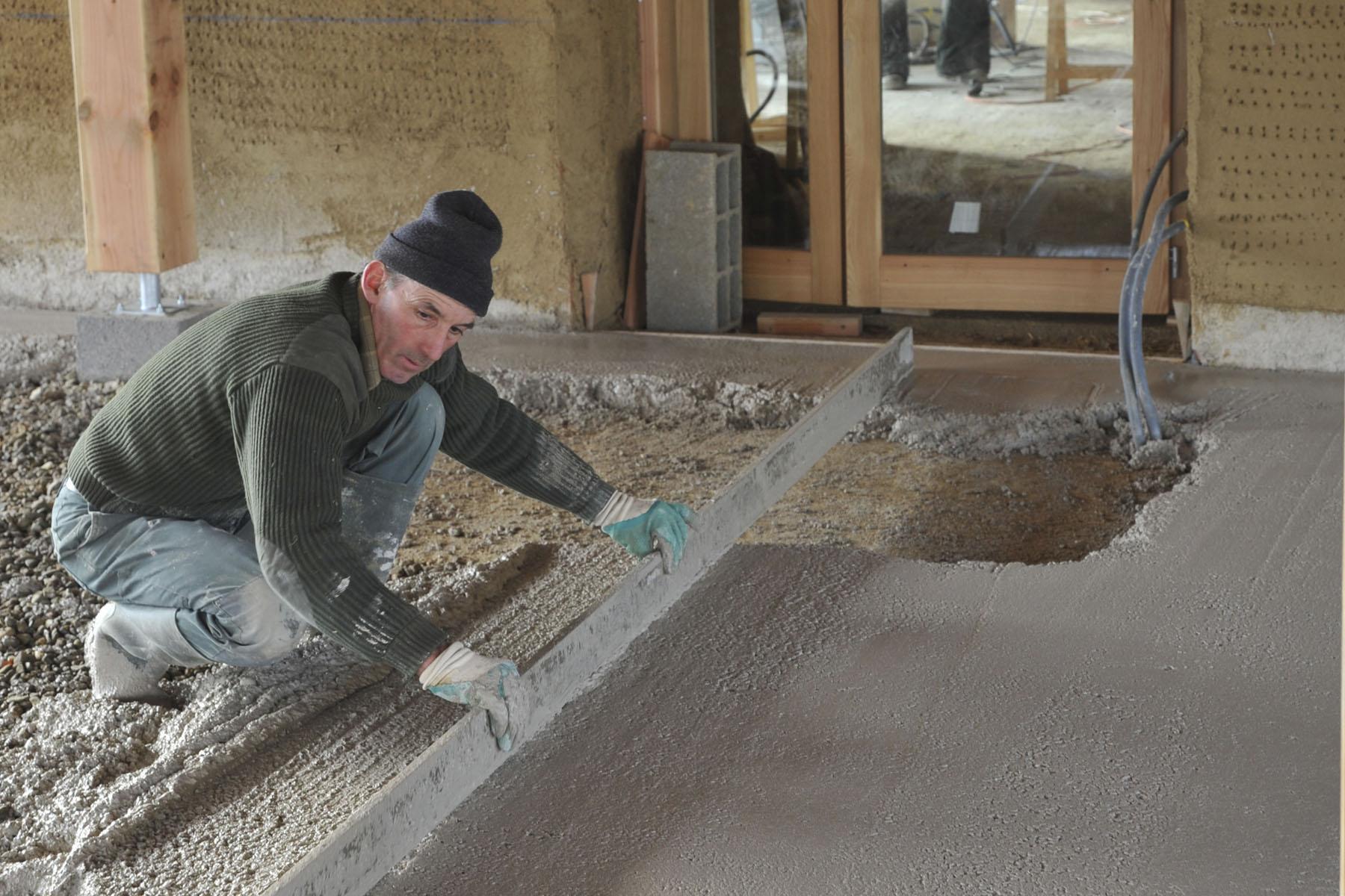 Alternatives à la dalle beton