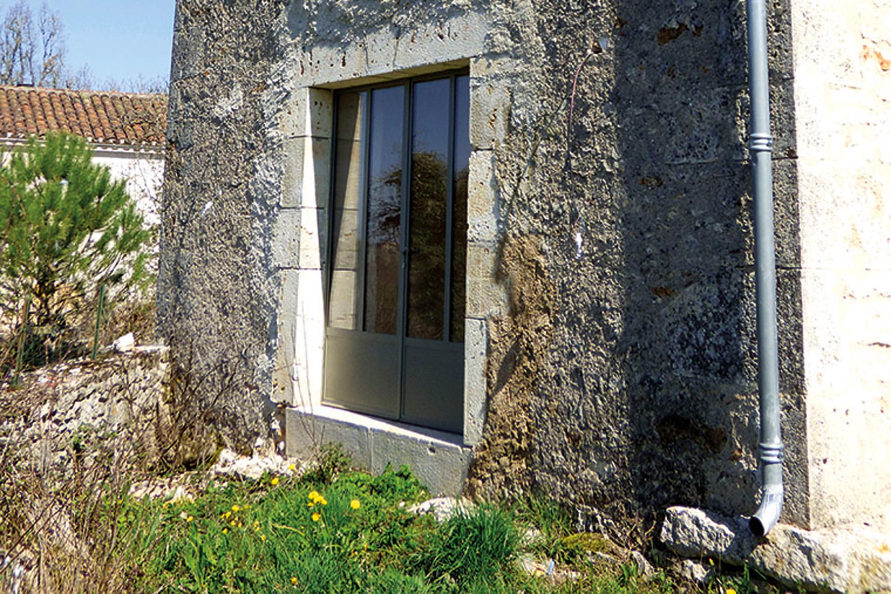 percer un mur en pierre