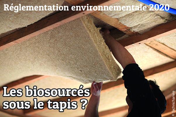 Les matériaux biosourcés et la réglementation environnementale RE 2020 - photo Technichanvre