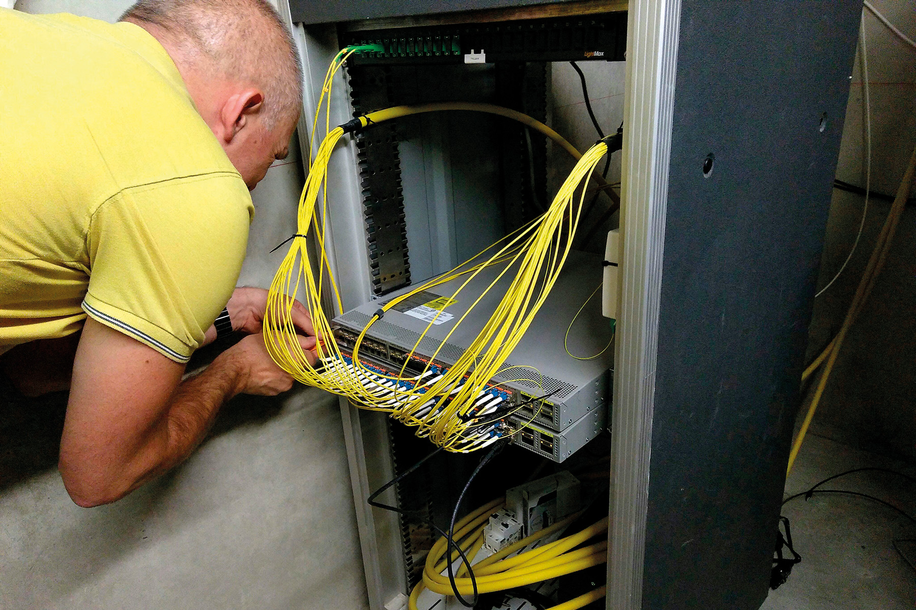 réseau internet local