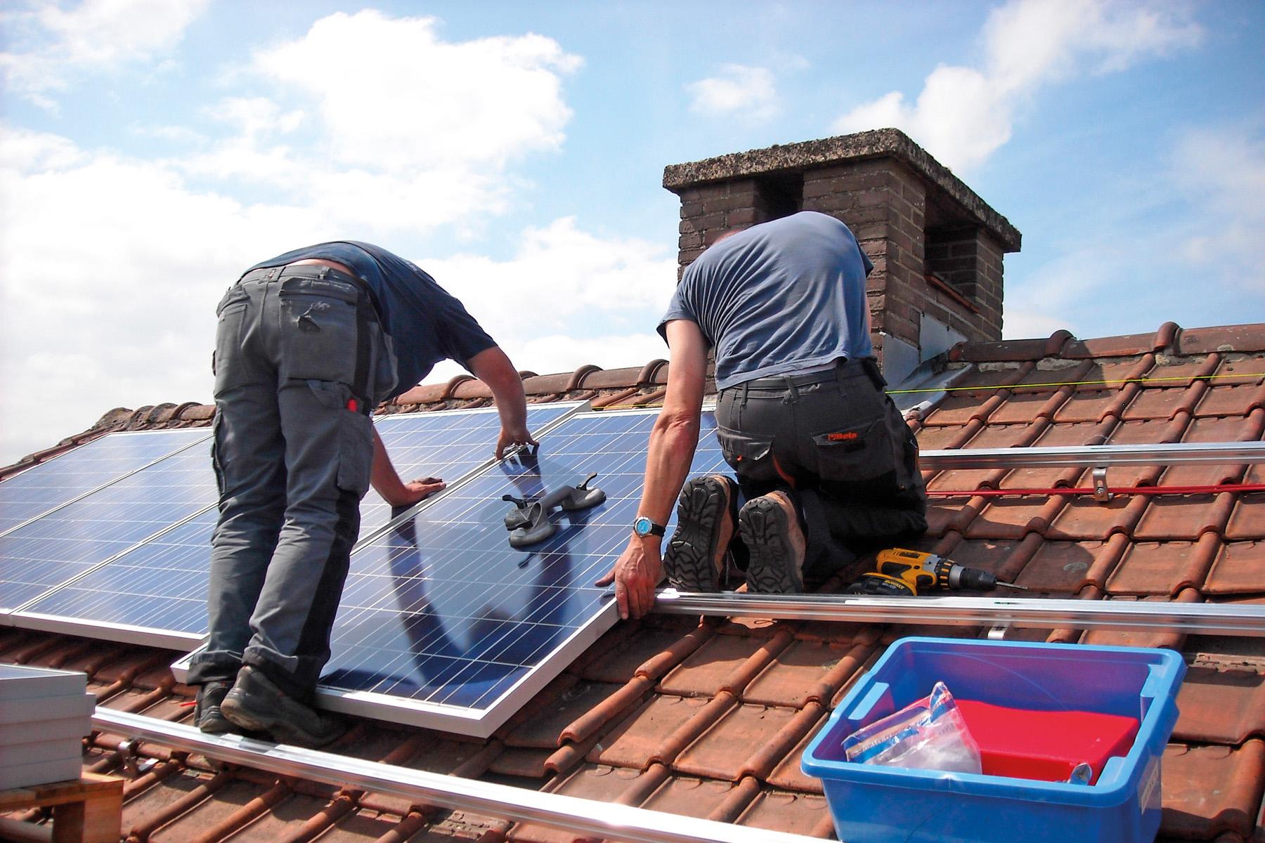panne de panneaux photovoltaïques
