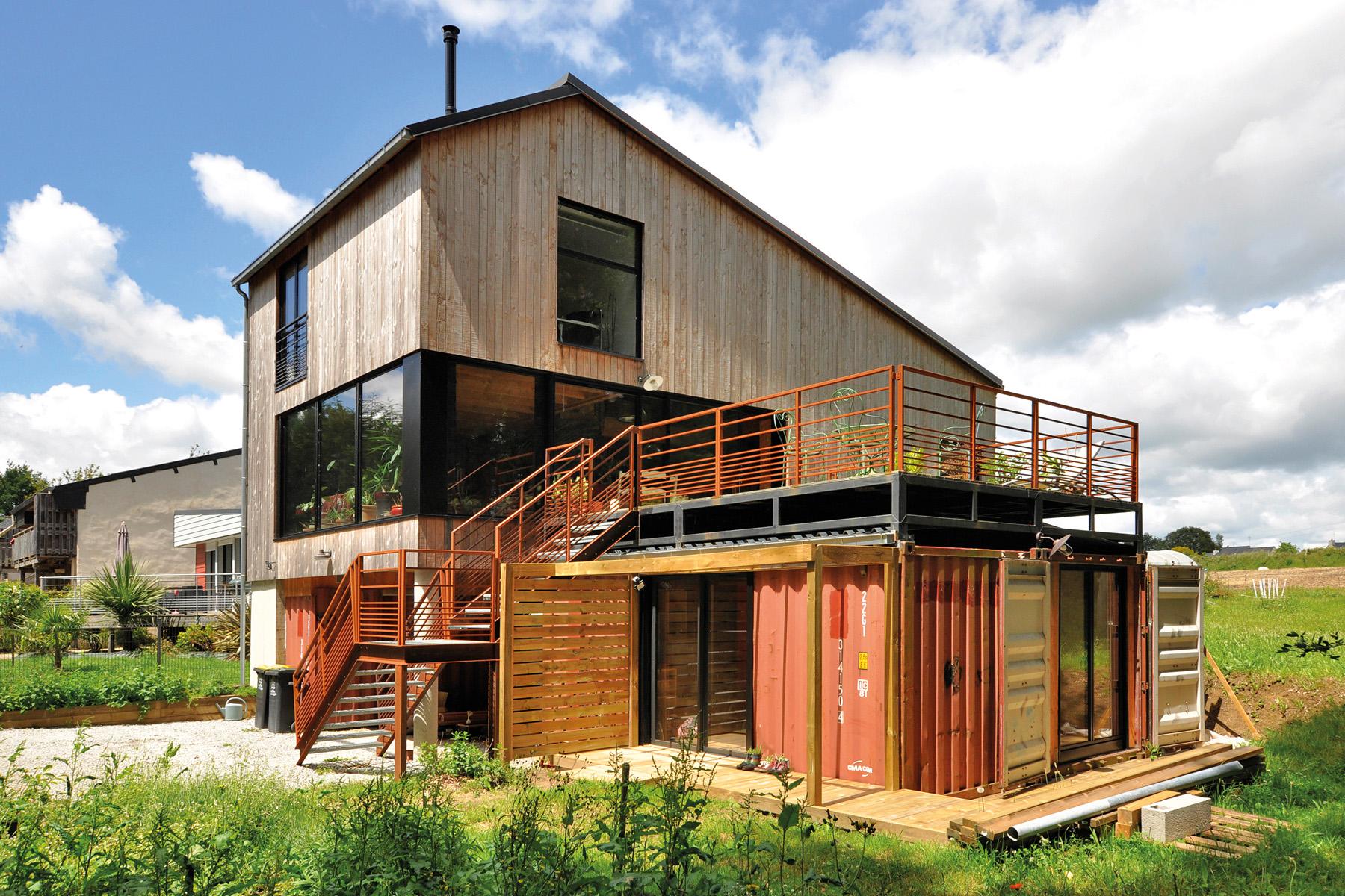 maison à l'air industriel