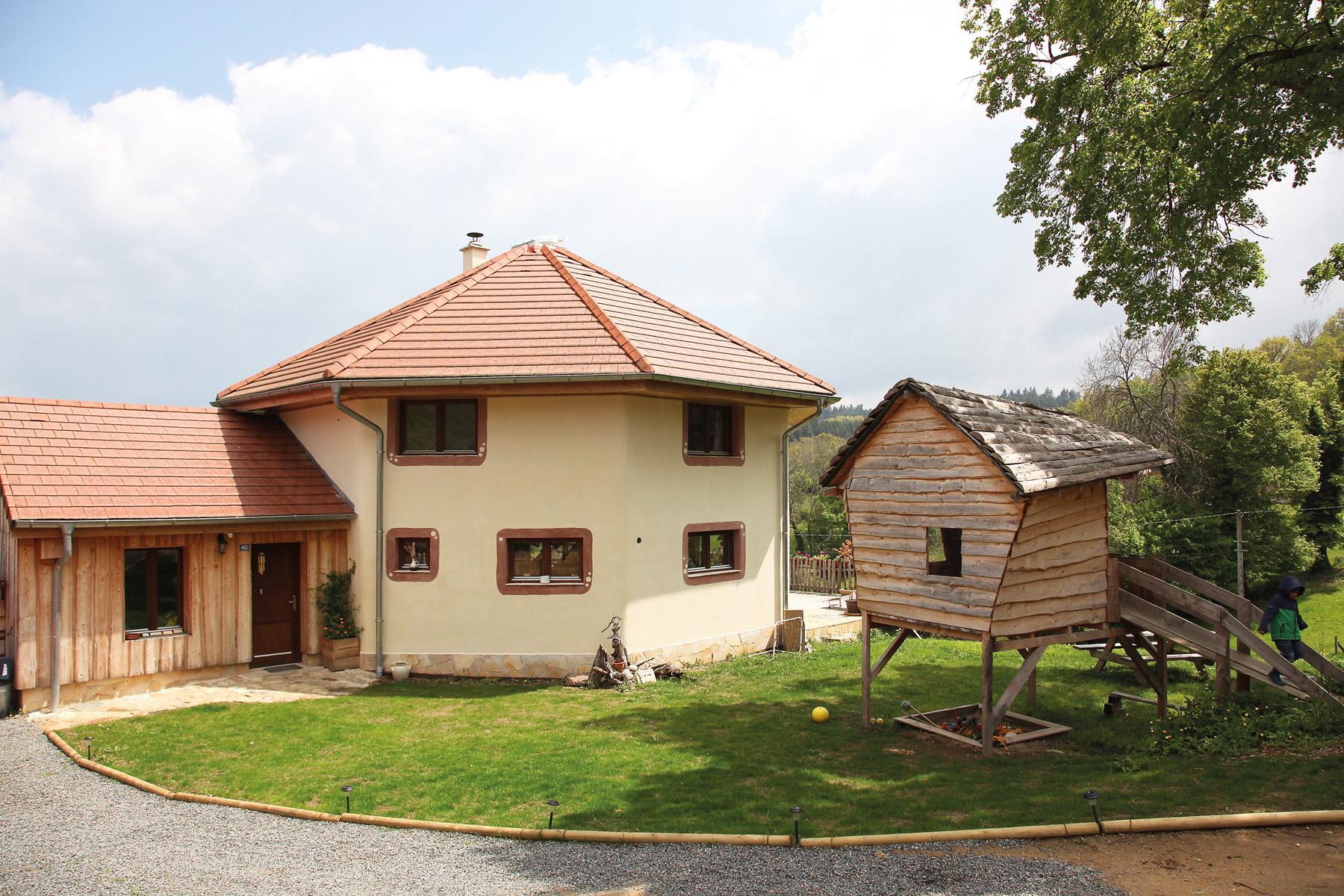 maison octogonale