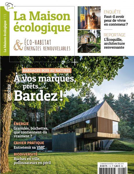 COUVERTURE 113 BARDAGES LA MAISON ECOLOGIQUE