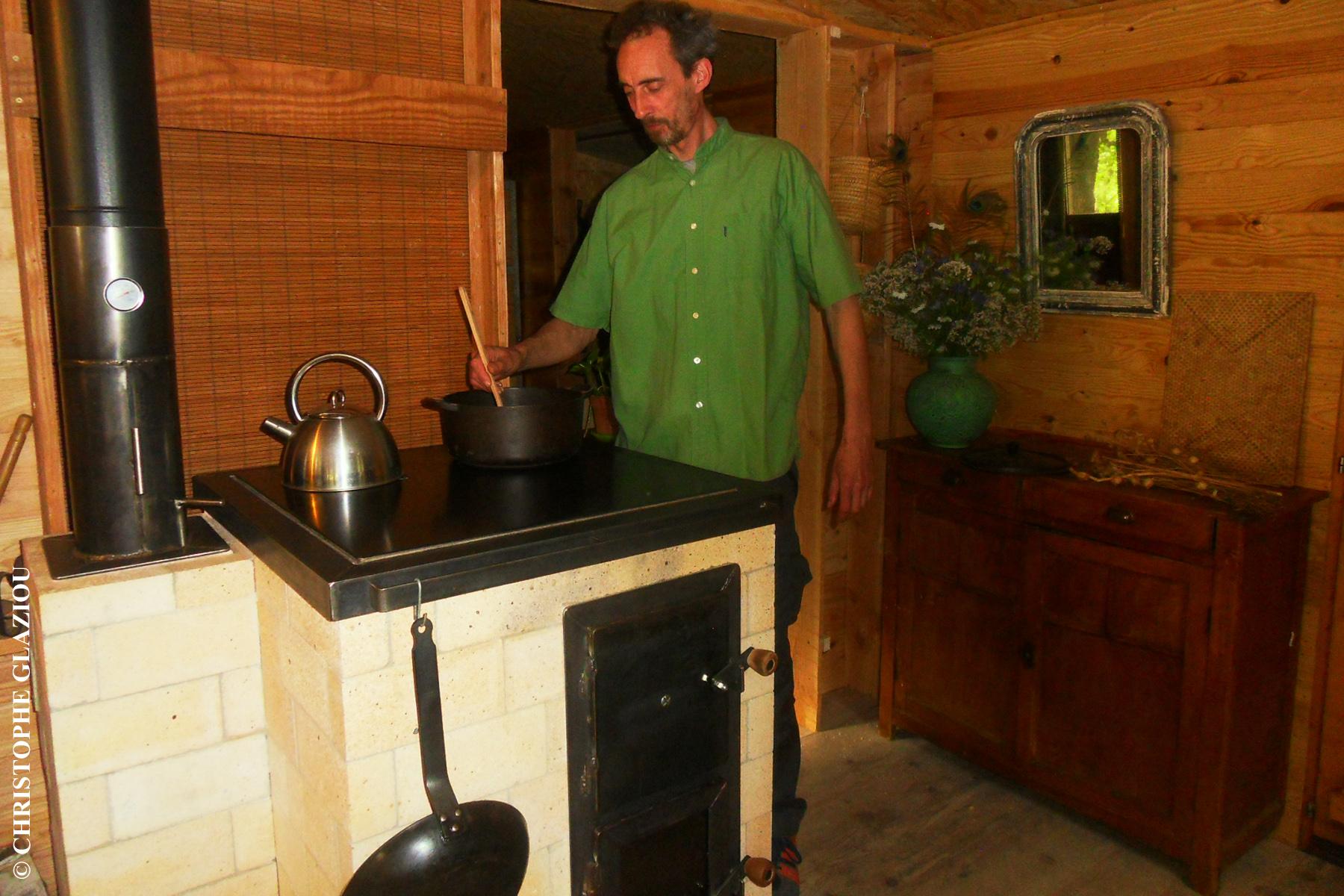 fabriquer une cuisinière de masse