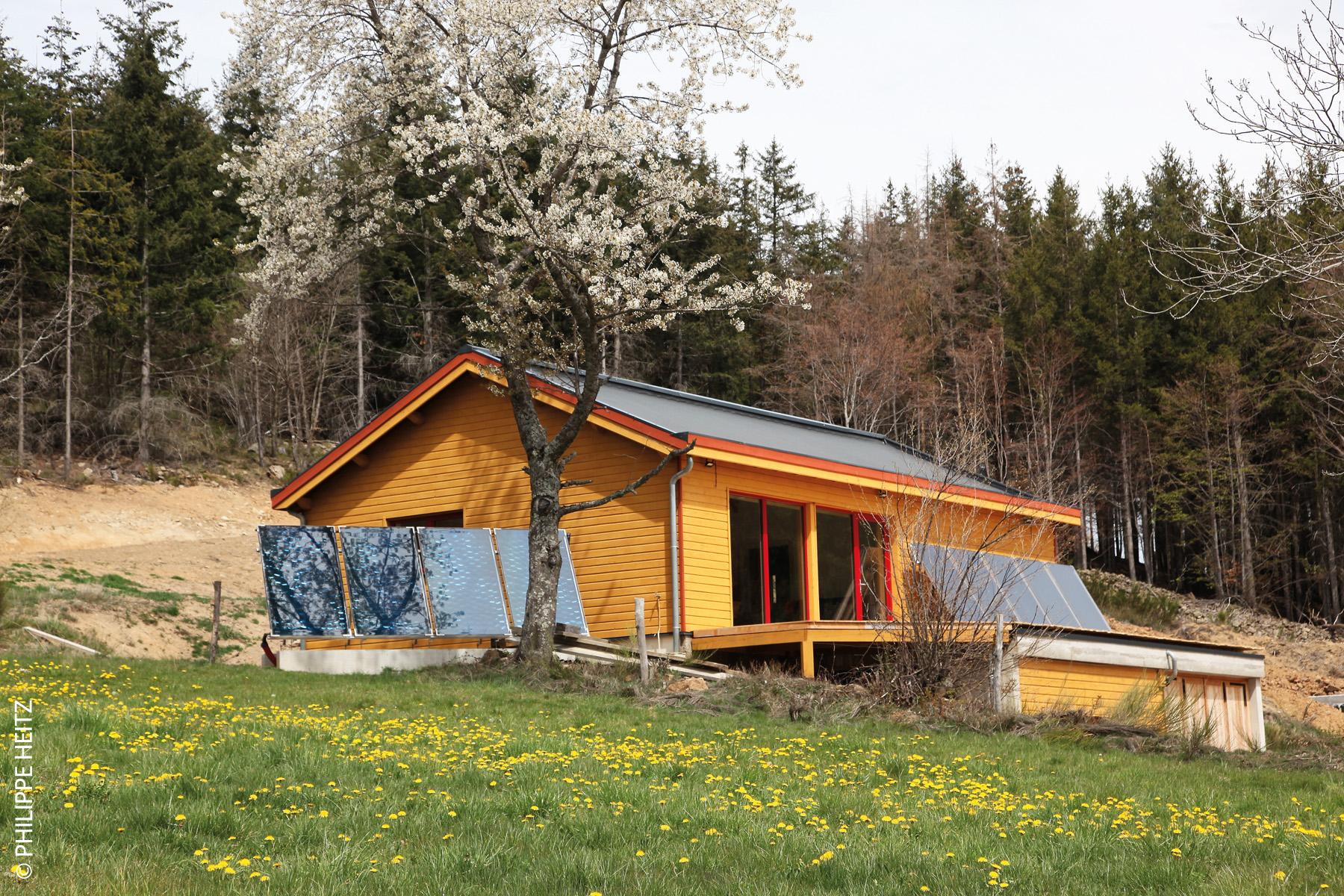 maison 100% solaire