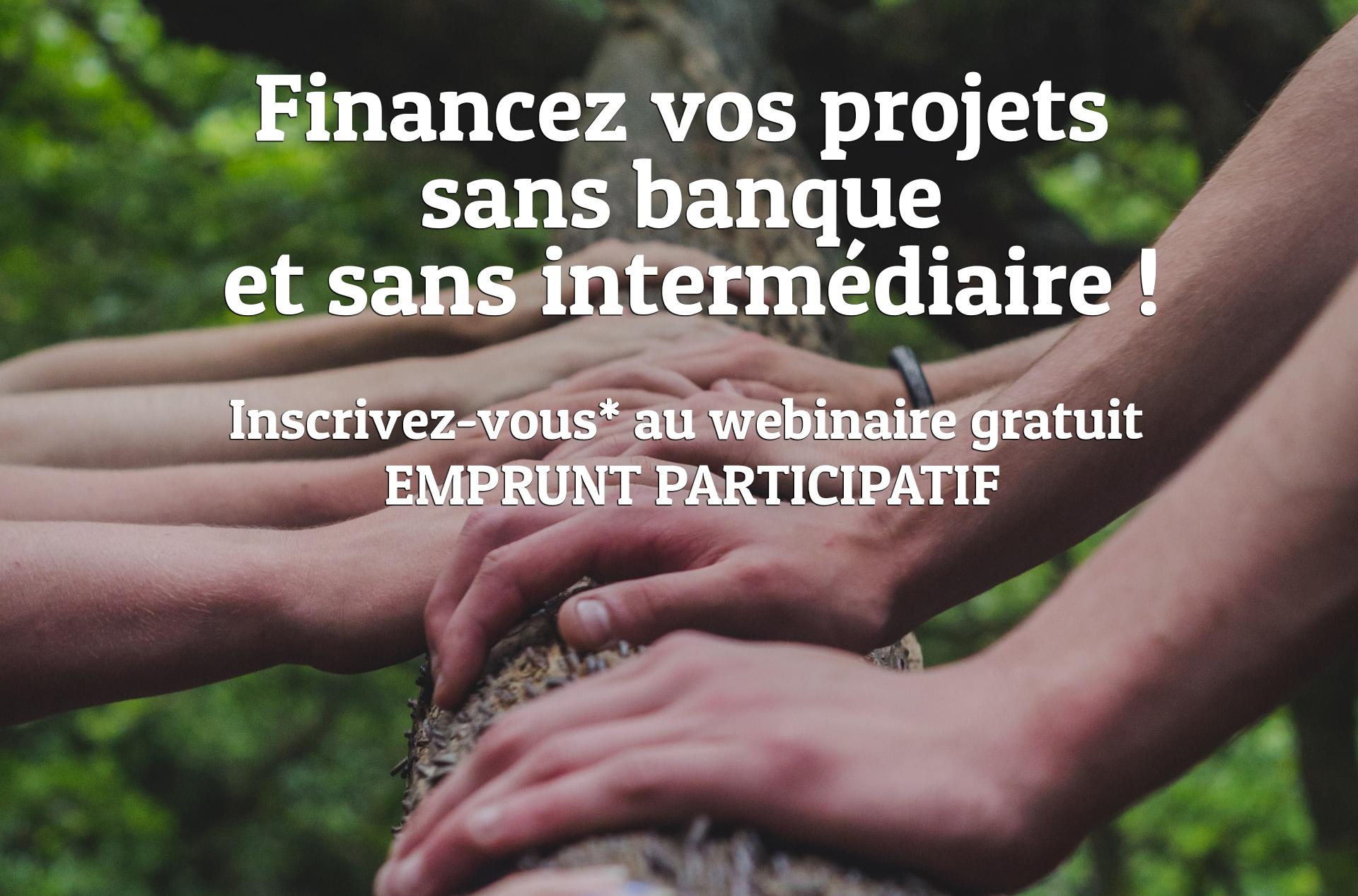 Emprunt participatif - webinaire
