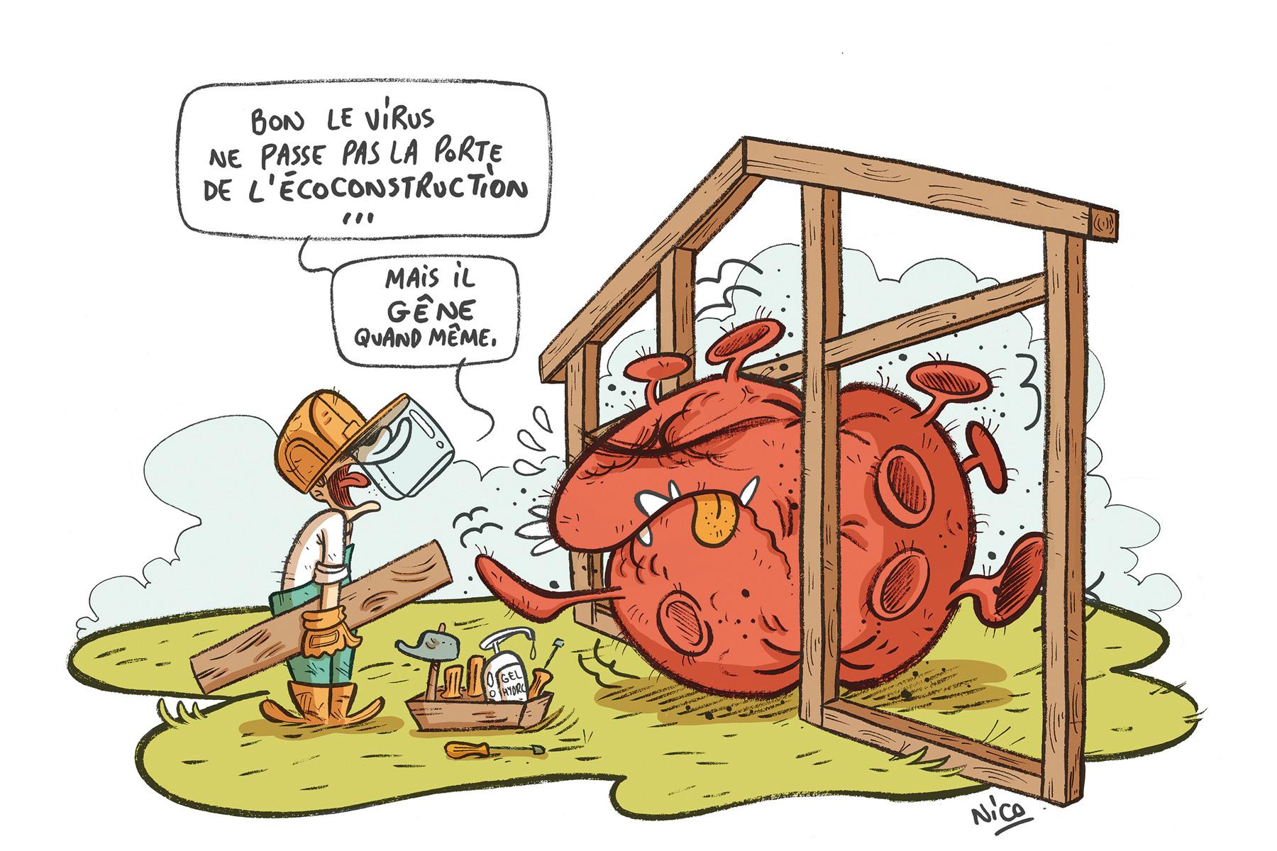 ecoconstruction et coronavirus