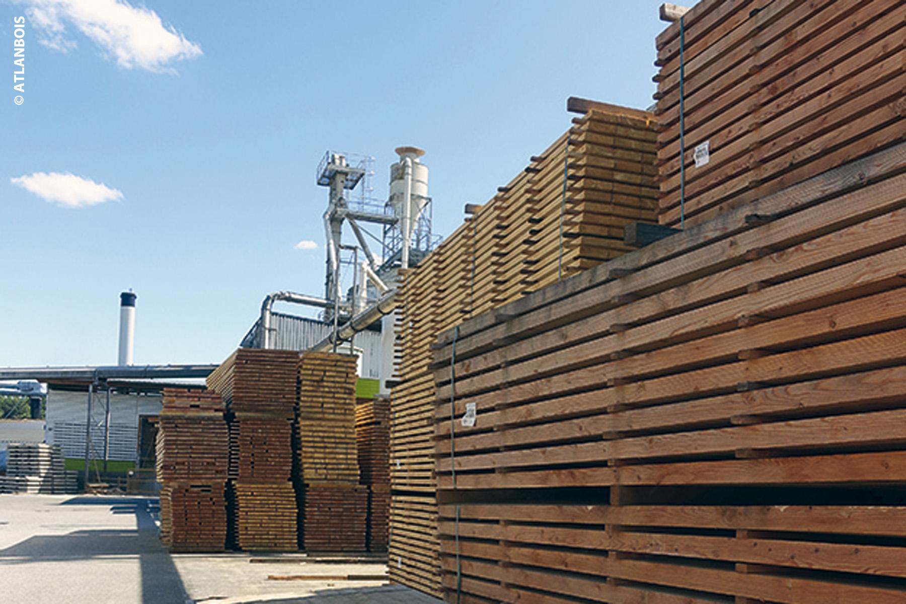 s'approvisionner en bois de construction