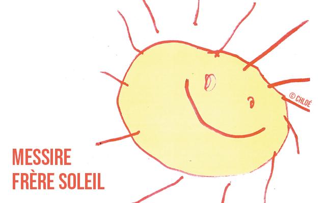 Dessin enfant soleil