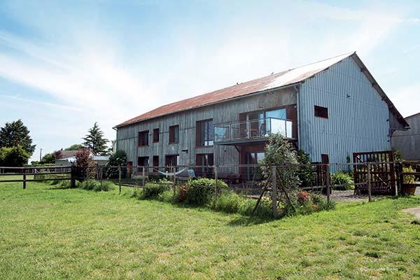 Renover une maison dans une grange