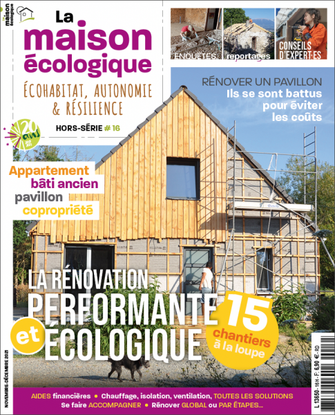 rénovation performante et écologique